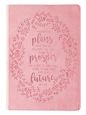 Christian Art Gifts Faux Leather Flexcover Journal Notebook