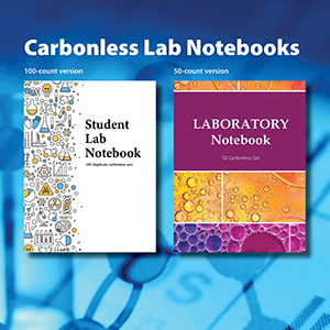 student lab notebook carbonless science graph paper
